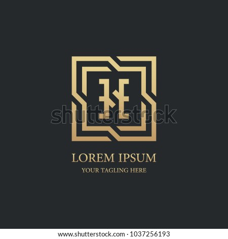 741ede8f200 letter h logo vector design.geometric luxury gold symbol icon template.
