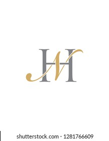 Letter H and N Logo Icon 001