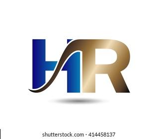 Letter Hr logo