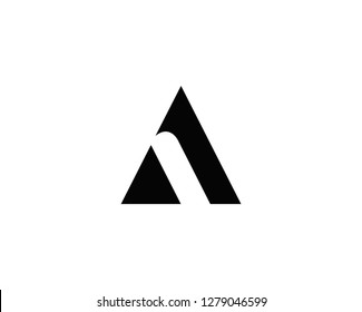 Letter A icon alphabet symbol.   Letter A logo icon design vector sign.