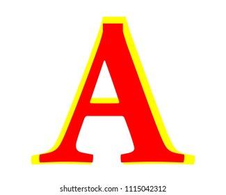 A Letter Illustration