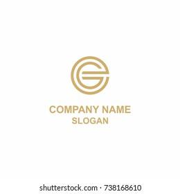 EG letter initial logo.