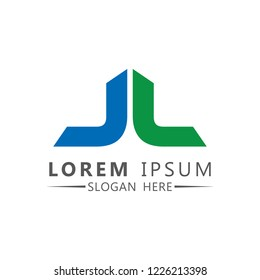 Letter J + L Logo Vector