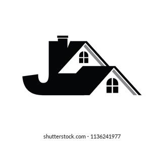Letter J Logo Design Template