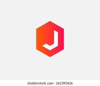 Letter J logo icon vector design