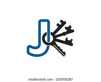 Letter J logo or symbol template design