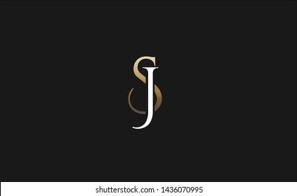 Letter J and letter S logo.js monogram icon