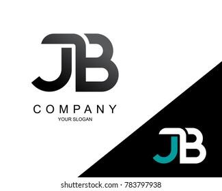 Letter JB Logo Icon Design Template Element