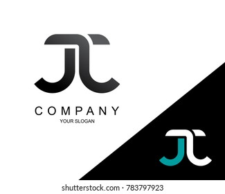 Letter JJ Logo Icon Design Template Element