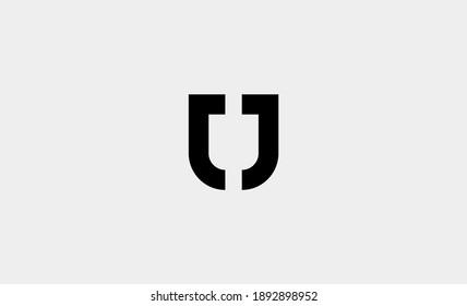 letter jj shield logo design vector illustration