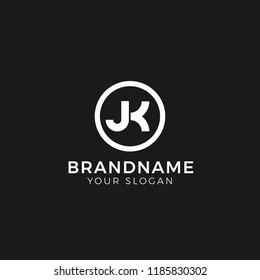 Letter JK Logo Vector