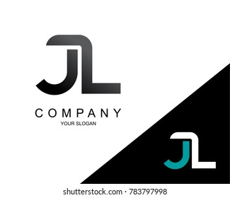 Letter JL Logo Icon Design Template Element