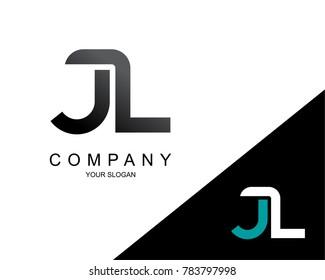 Letter JL Logo Icon Design Template Element