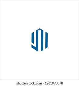 Letter JM logo icon design