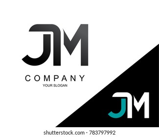 Letter JM Logo Icon Design Template Element