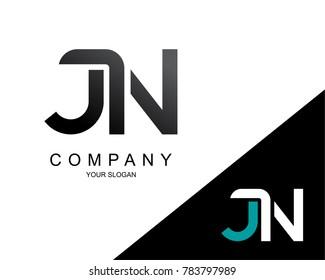 Letter JN Logo Icon Design Template Element