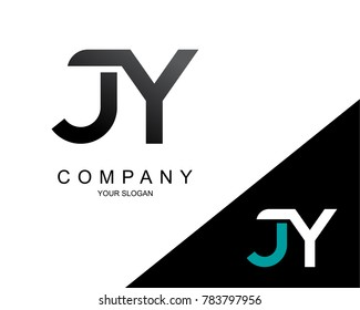 Letter JY Logo Icon Design Template Element