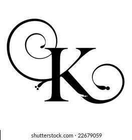 Letter K Images, Stock Photos & Vectors | Shutterstock on monogram letter template, fancy old english letter k, letter b template, fancy lowercase k, fancy monograms letter k, fancy graffiti letters, fancy letters d designs, letter y template, fancy letter k designs, fancy letter k wallpaper, fancy initial monogram fonts, printable letter m template, fancy script lettering, letter o template, fancy script letter k, fancy lettering fonts, kangaroo template, fancy calligraphy fonts, letter z template,