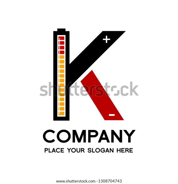 letter k battery vector logo template stock vector royalty free 1308704743 https www shutterstock com image vector letter k battery vector logo template 1308704743