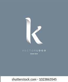 Letter K business logo icon vector template.