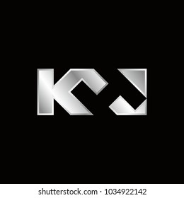 letter K and H vector logo