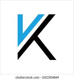 logo letter k design template のベクター画像素材 ロイヤリティ