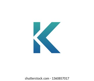 Letter K Logo Icon Vector