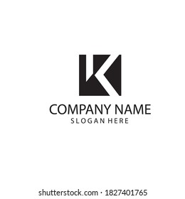 letter K logo for sale creative illustrations. vector design