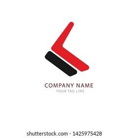 Letter K Logo Template Design Vector Illustration