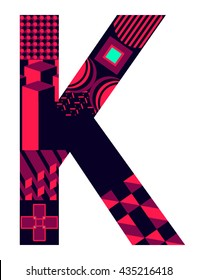 Letter K from my letter collection