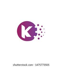 Letter K New Logo Vector