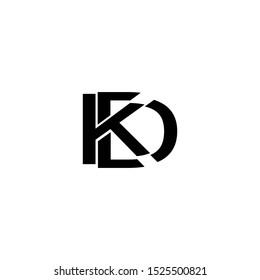 Letter KD New Logo Vector