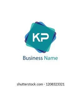 Letter KP Logo Design