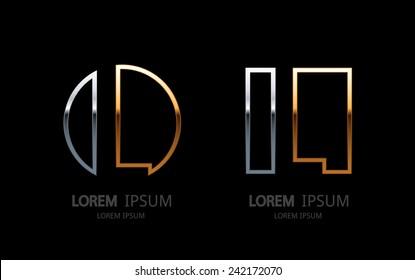 Letter L logo. Alphabet logotype vector design.
