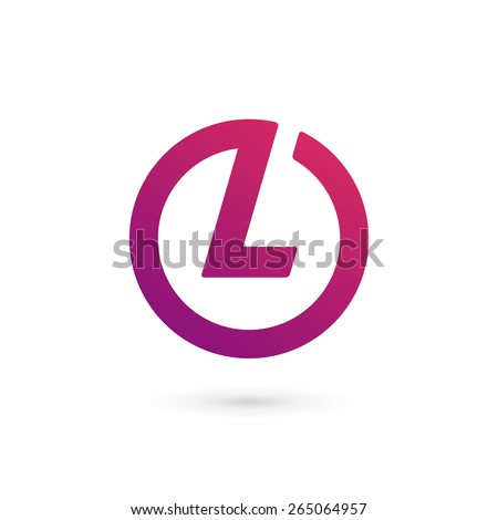 Letter L Logo Icon Design Template Stock Vector Royalty Free