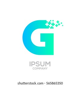 Letter L Pixel logo, Plus sign logo, Medical health care hospital symbol, Technology and digital logotype