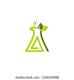 A letter lab logo