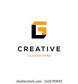 Letter LG Monogram Abstract Creative Business Modern Logo