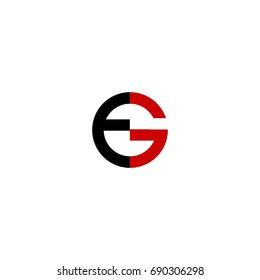 eg letter logo