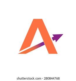 Letter A Logo desig