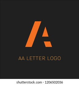 Letter A Logo design template elements