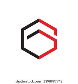 Letter EG logo design vector