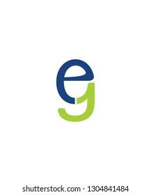 EG Letter Logo Icon