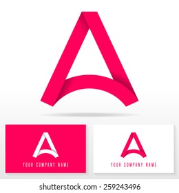 Letters images stock photos vectors shutterstock letter a logo icon design template elements vector sign business card templates spiritdancerdesigns Gallery