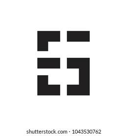EG letter logo, SG letter logo
