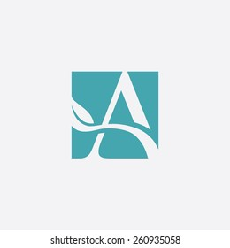 Letter A logo / symbol - vector icon