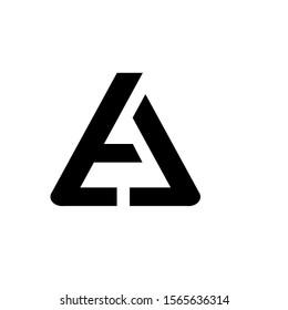 a letter logo. ta letter logo