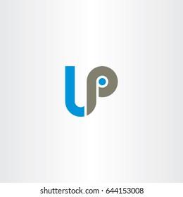 letter lp logo logotype