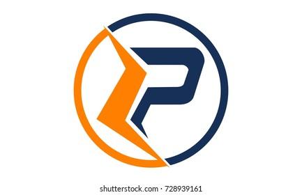 Letter LP Modern Logo