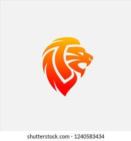 Letter LT Lion